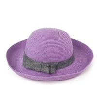 Elegantní klobouk na léto růžový