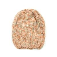 Melanžová čepice béžová
