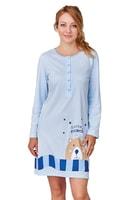 Dámská noční košile Romana modrá