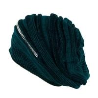 Trendy zimní čepice zelená