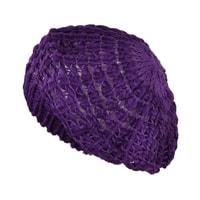 Lehký baret fialový