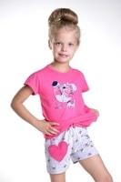 Dívčí pyžamo Hanička růžové