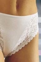 Bavlněné kalhotky 40 bílé