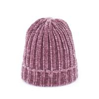 Dětská teplá zimní čepice starorůžová
