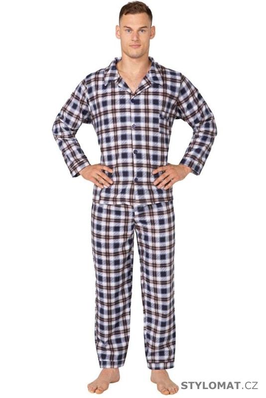 0406658e4bd7 Pánské flanelové pyžamo Radek kárované - Kuba - Pyžama