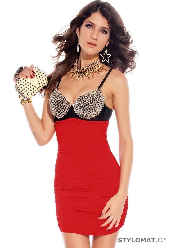 Dámské sexy mini šaty - Damson - Party a koktejlové šaty 18e6923494