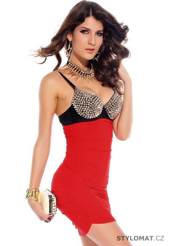 Dámské sexy mini šaty - Damson - Party a koktejlové šaty a268571b84