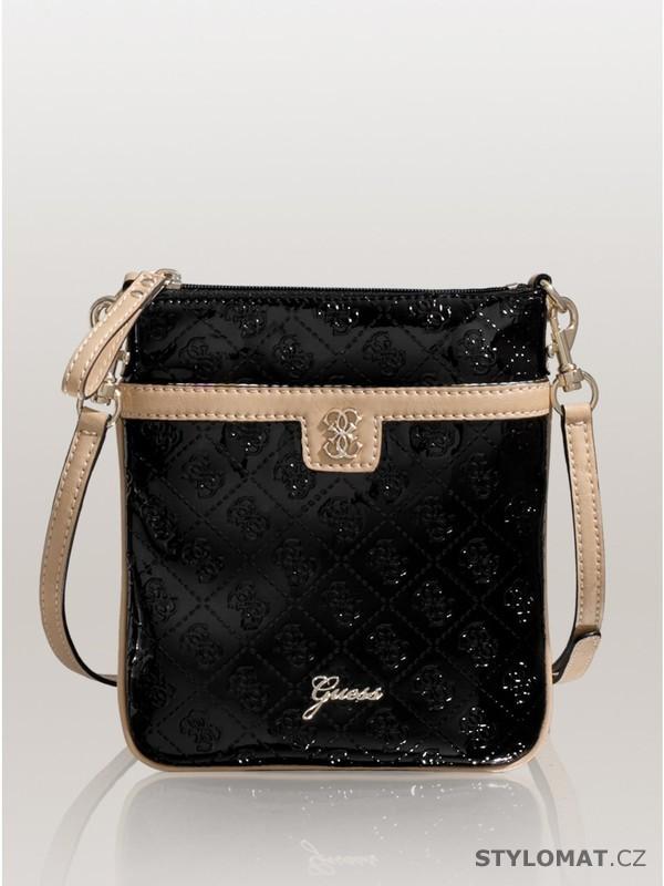 Luxusní dámská černá kabelka GUESS Reiko Mini Cross-Body - Guess - Dámské  kabelky a tašky 0c7ee457eae