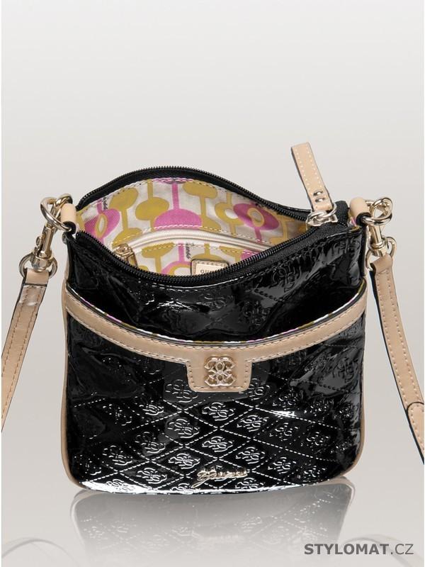 Luxusní dámská černá kabelka GUESS Reiko Mini Cross-Body - Guess - Dámské  kabelky a tašky bcc58c760a