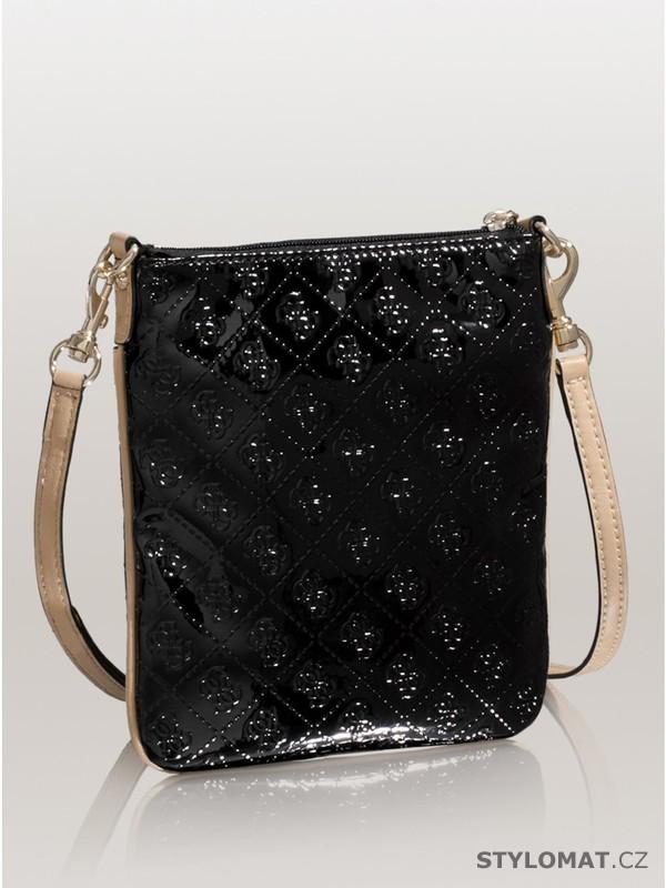 Luxusní dámská černá kabelka GUESS Reiko Mini Cross-Body ... a40629050b