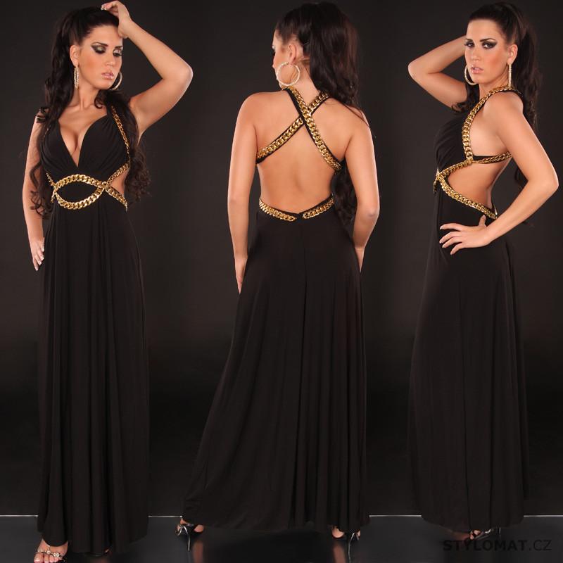 Sexy dlouhé šaty na ples - Koucla - Dlouhé společenské šaty c1aa189a86
