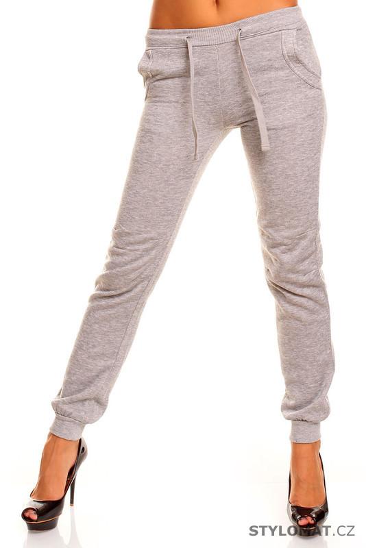 5882662de21 Dámské šedé tepláky - Fresh Made - Kalhoty