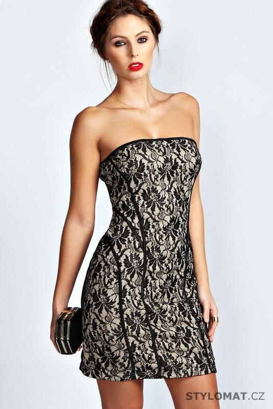 626f4d7a8a4 Dámské trendy krajkové společenské šaty - Damson - Party a koktejlové šaty