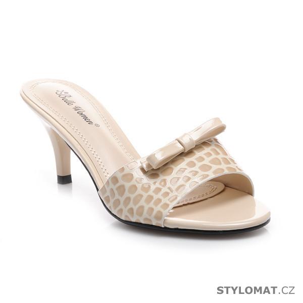 1a2c67b4ee8 Pantoflíčky na nízkém podpatku - Belle Women - Pantofle a žabky