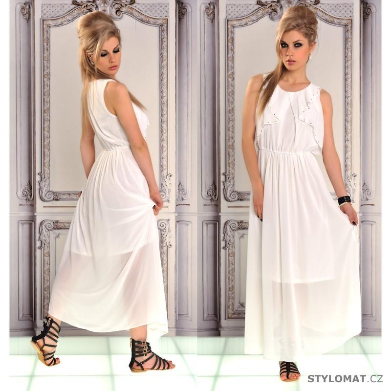 Bílé dlouhé letní šaty - Fashion - Dlouhé letní šaty 0f6b9c7e54
