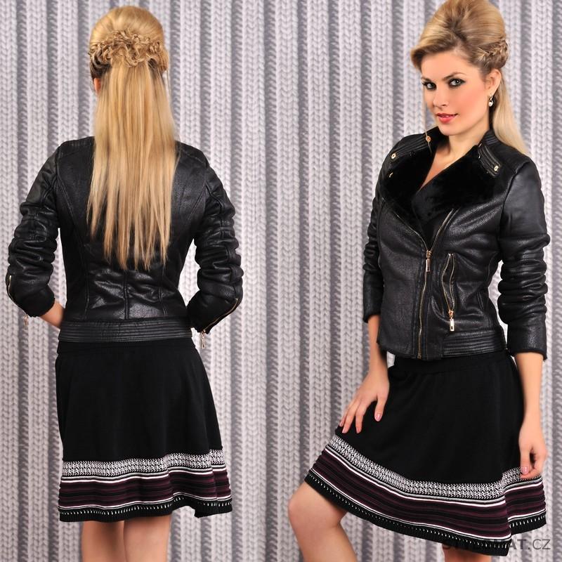 8af592e1206 Černá zimní sukně - Fashion - Sukně