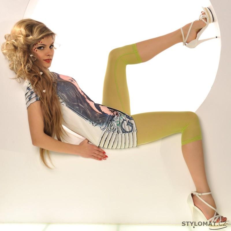 Trendy zelené 3 4 legíny - Fashion - Legíny e537762463