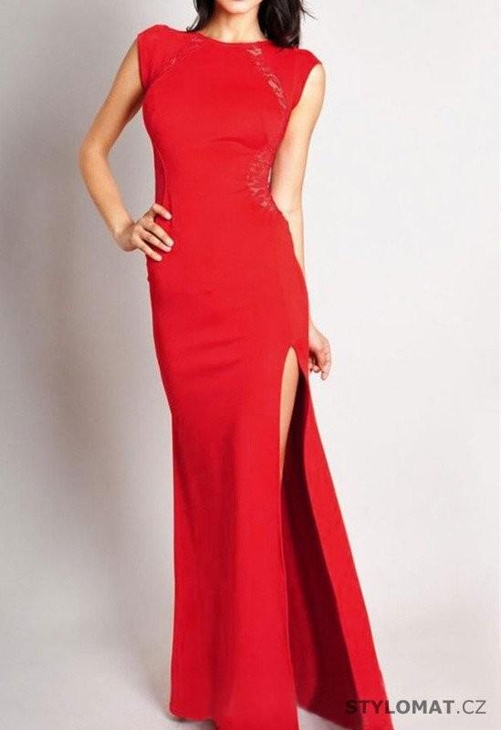 Červené plesové šaty 1d29b3e729f