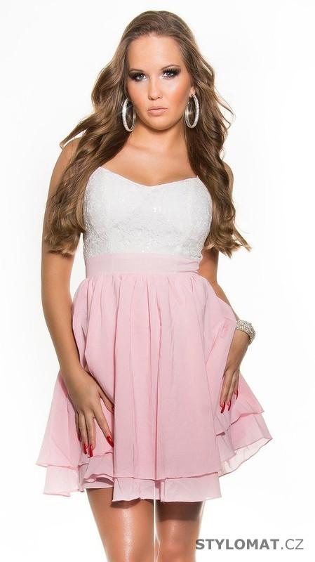 Dívčí šaty do společnosti - Koucla - Krátké společenské šaty c5d4a94bb8