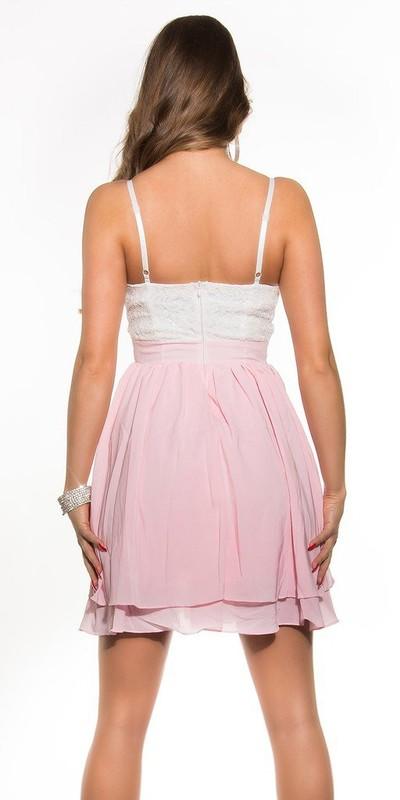 11db13c9491 Dívčí šaty do společnosti - Koucla - Krátké společenské šaty