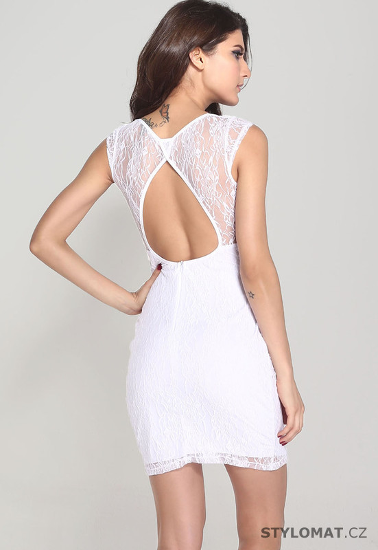 ... koktejlové šaty    Bílé krajkové šaty. Previous  Next d18a2f3946