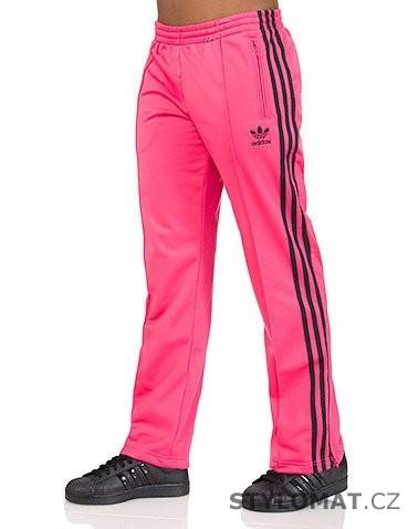 5982d76178a Růžové sportovní kalhoty adidas Originals FIREBIRD TP - Adidas - Sportovní  kalhoty a tepláky