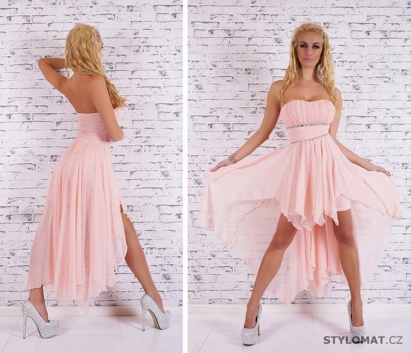 ... Krátké společenské šaty    Společenské světle růžové šaty. Previous   Next 963afe0820