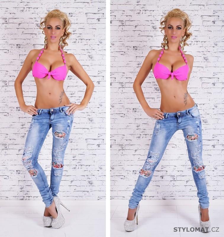 dec6bb3f467 Dámské džíny šisované - EU - Jeansy