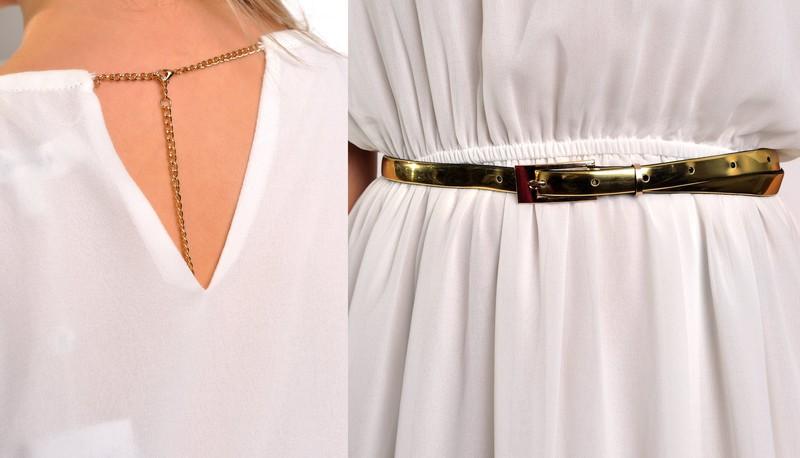 70518579c74 Antické šaty se spodničkou - Fashion - Dlouhé letní šaty