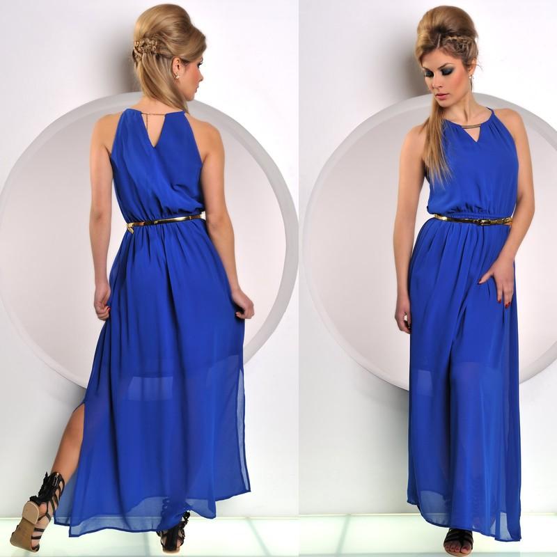 ... Dlouhé letní šaty    Modré antické šaty. Previous  Next 7d72a139242
