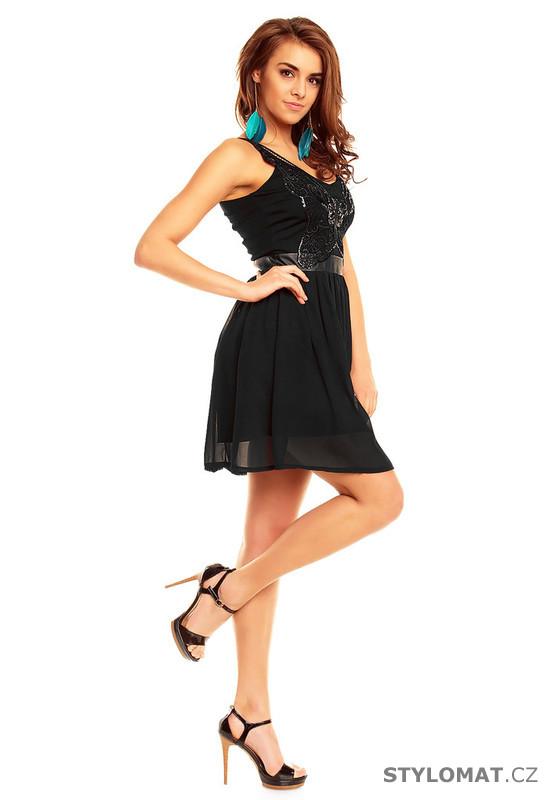 3604321c004 ... Krátké společenské šaty    Šaty do tanečních - černé. Previous  Next
