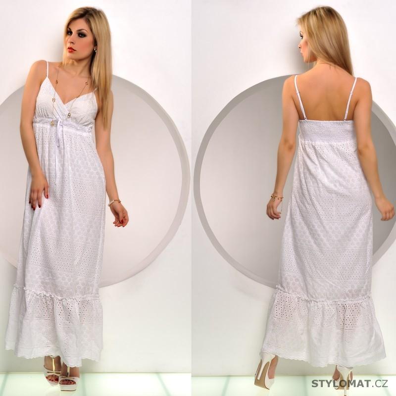 Bavlněné letní šaty se spodničkou - Fashion - Dlouhé letní šaty f93a7c12c0