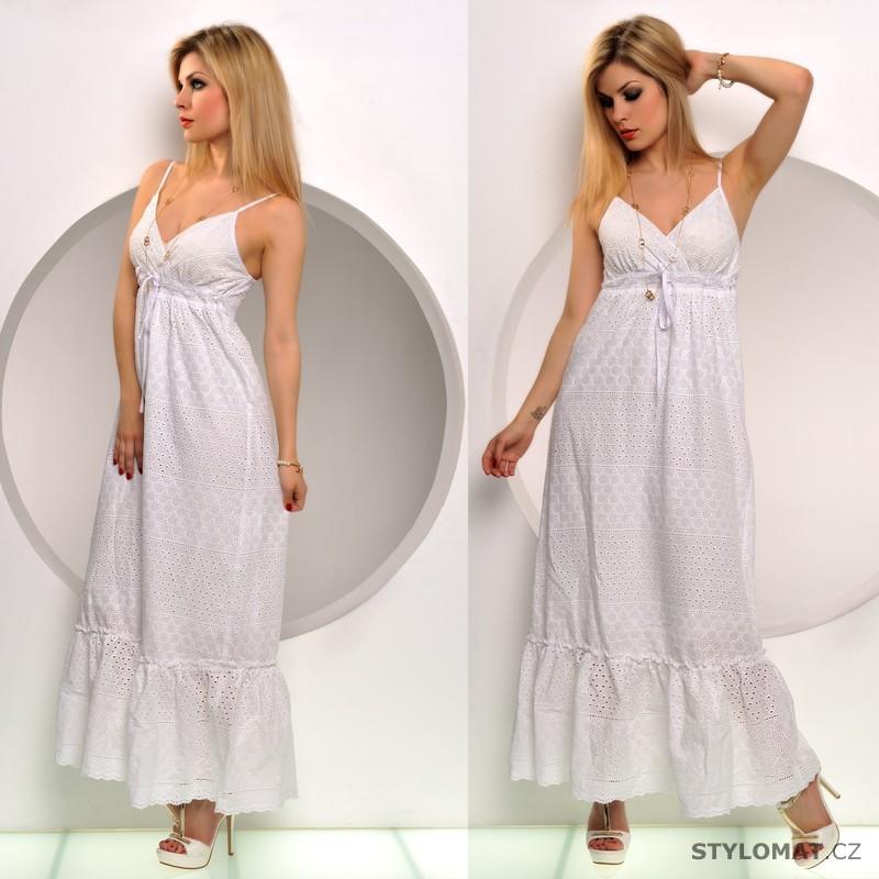 Bavlněné letní šaty se spodničkou - Fashion - Dlouhé letní šaty 86d54b8d89