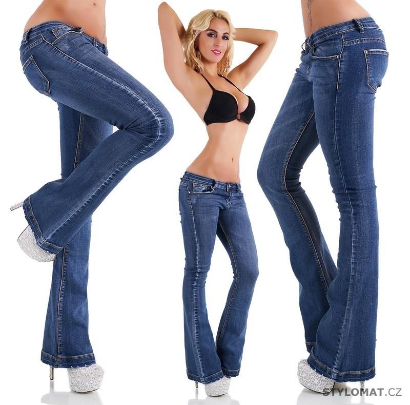c517d828d7f Dámské zvonové džíny - Lexxury - Jeansy