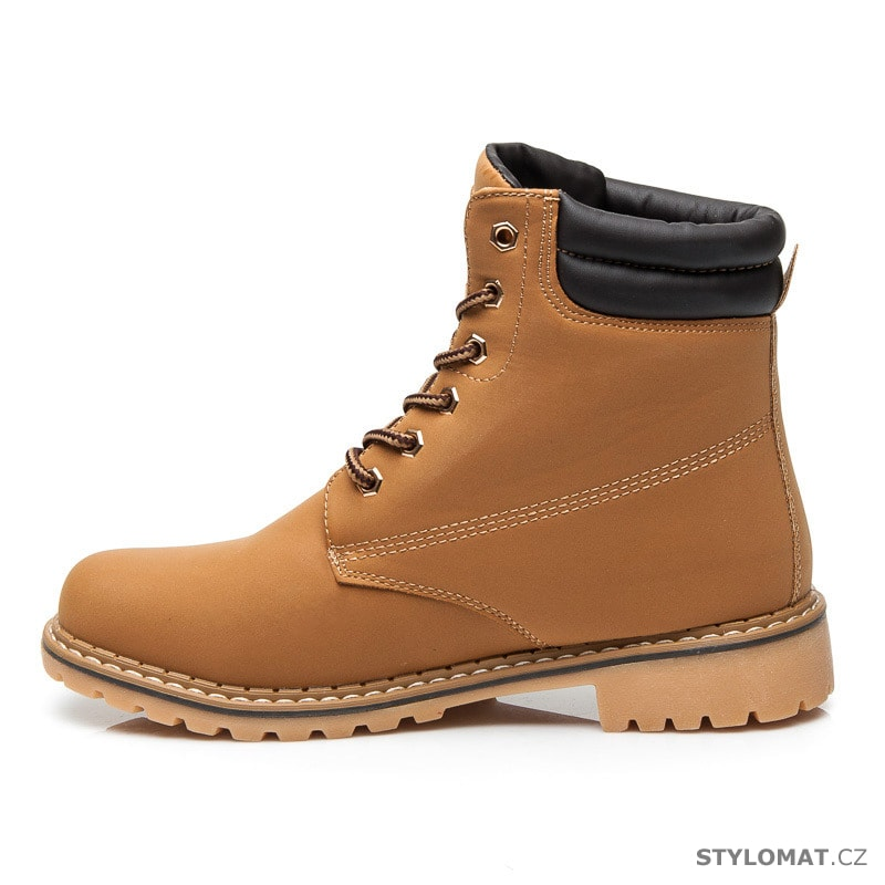 ... Dámská obuv    Kotníčkové boty    Zateplené workery. Previous  Next 14bf7a11e4