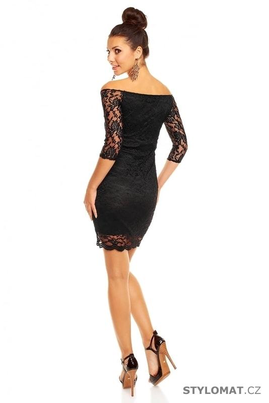 24de13b0d5c ... Party a koktejlové šaty    Společenské černé krajkové šaty. Previous   Next