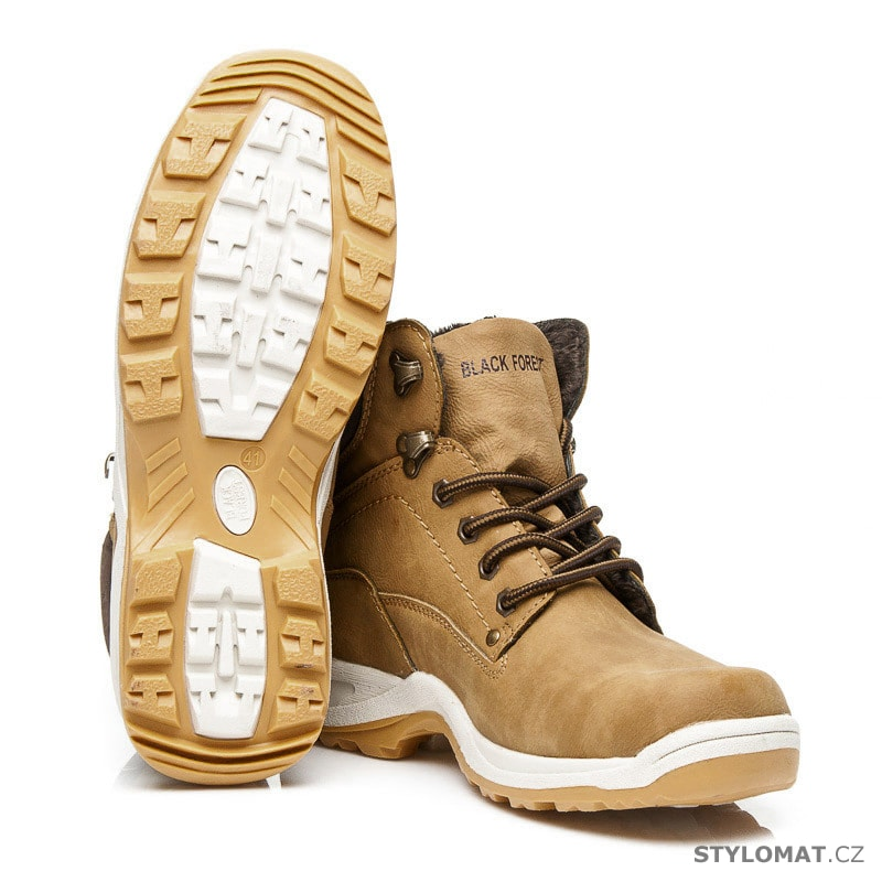 1ad20e1722b Pánské zimní boty - Black forest - Pánské kotníkové a farmářky