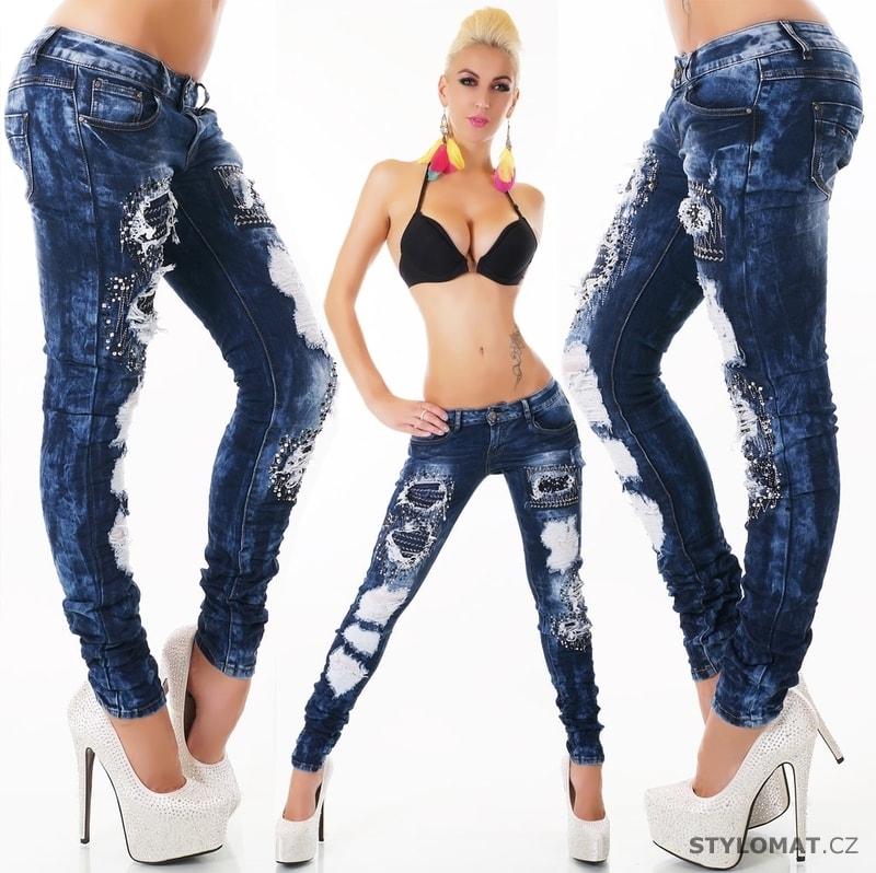 fcac1889c7e Dámské moderní jeans - EU - Jeansy