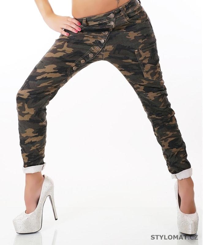 5500aa593aa Maskáčové dámské džíny - Simply Chic - Jeansy