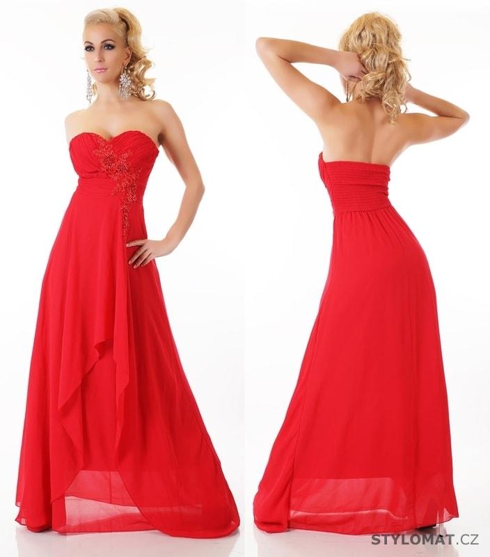 1e00fd1161e Dlouhé červené společenské šaty - EU - Dlouhé společenské šaty