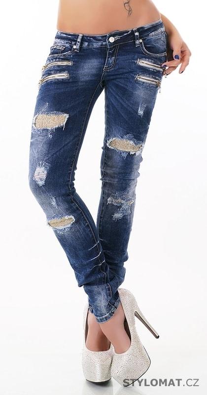 a296fde4823 Moderní dámské džíny - EU - Jeansy