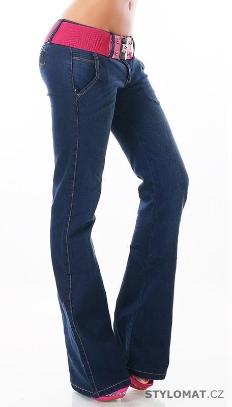503fb5a7912 Dámské džíny do zvonu - EU - Jeansy