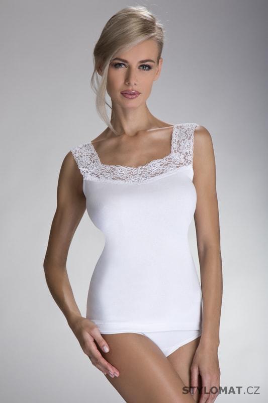 Dámská spodní košilka Arietta bílá - ELDAR - Spodní košilky c8005dcf79