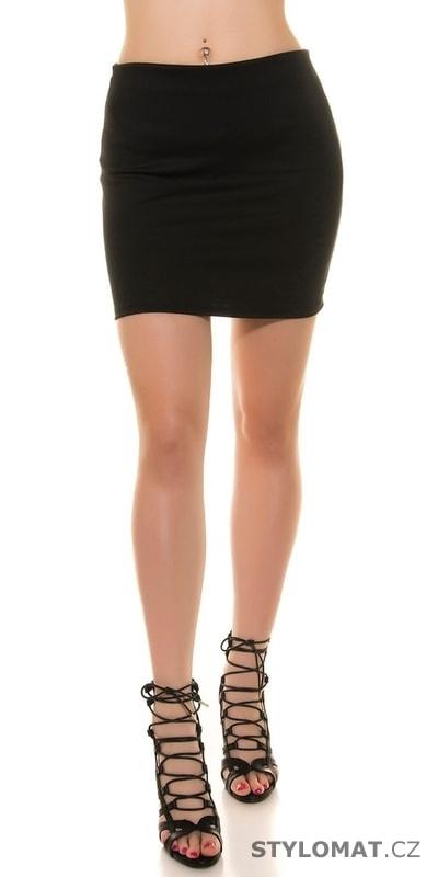 0b200f82b97 ... Dámské oblečení    Sukně    Černá elastická minisukně. Previous  Next