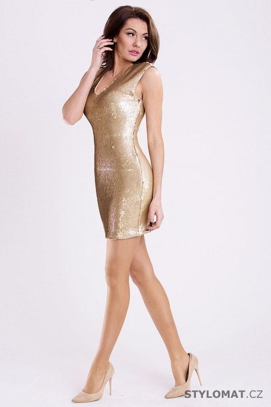 e5e41b3f097 ... Party a koktejlové šaty    Zlaté šaty. Previous  Next