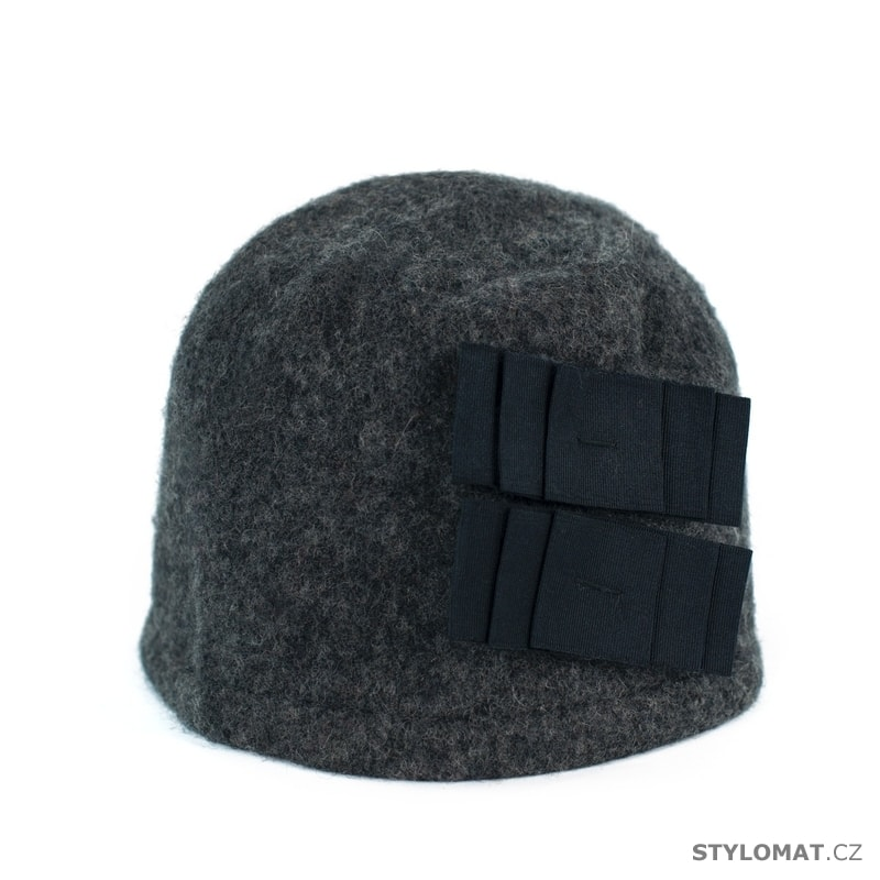 8467c52c360 Elegantní dámský zimní klobouk tmavě šedý - Art of Polo - Dámské ...