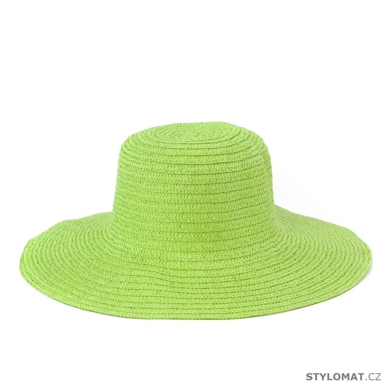 Dámský plážový klobouk zelený - Art of Polo - Dámské letní klobouky 4c8cc98e3a
