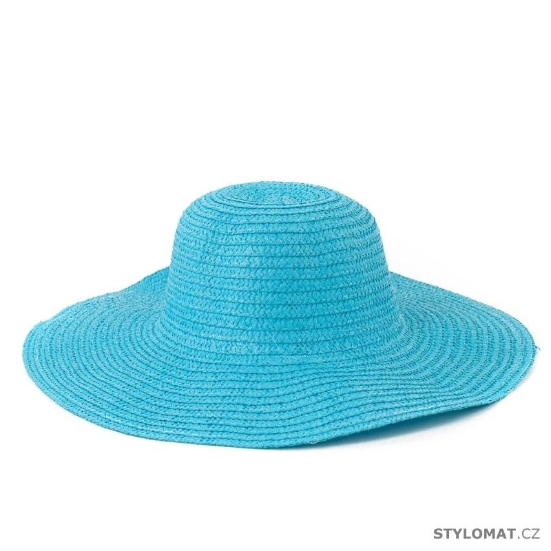 Dámský plážový klobouk