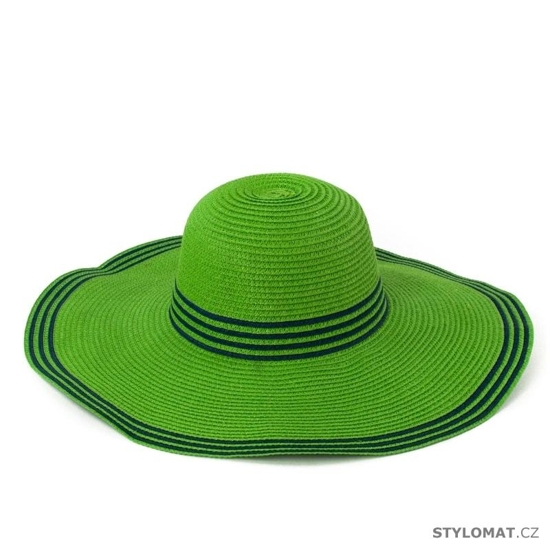 34bec0a4327 Zelený klobouk - Art of Polo - Dámské letní klobouky