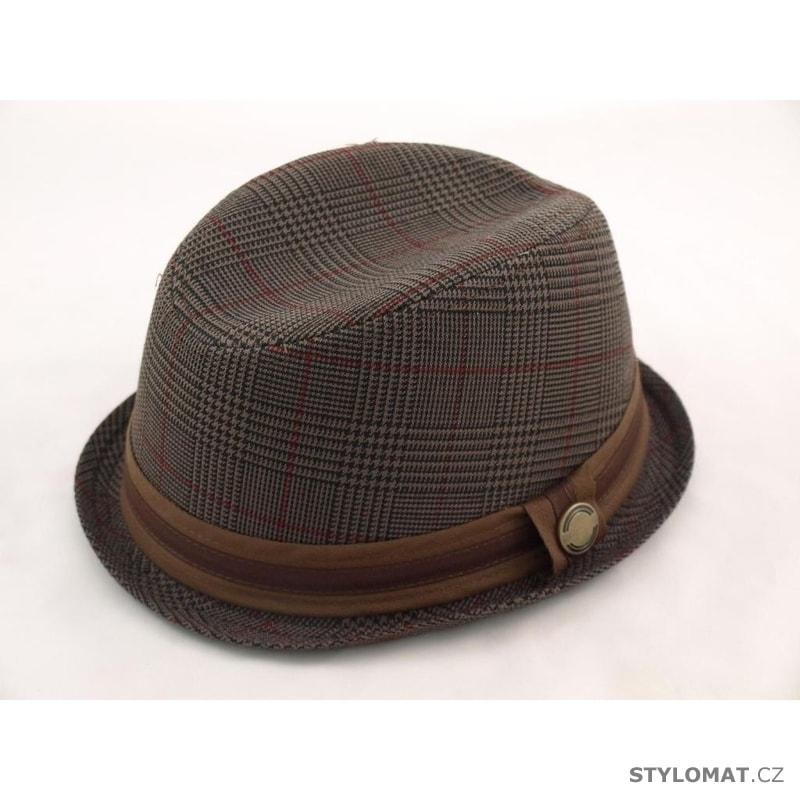 511023923fc Klobouk ve stylu Trilby Fedora hnědý - Art of Polo - Pánské klobouky ...